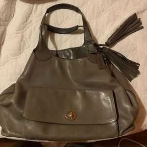 Coach American Legacy Icon Tote- Elephant grey
